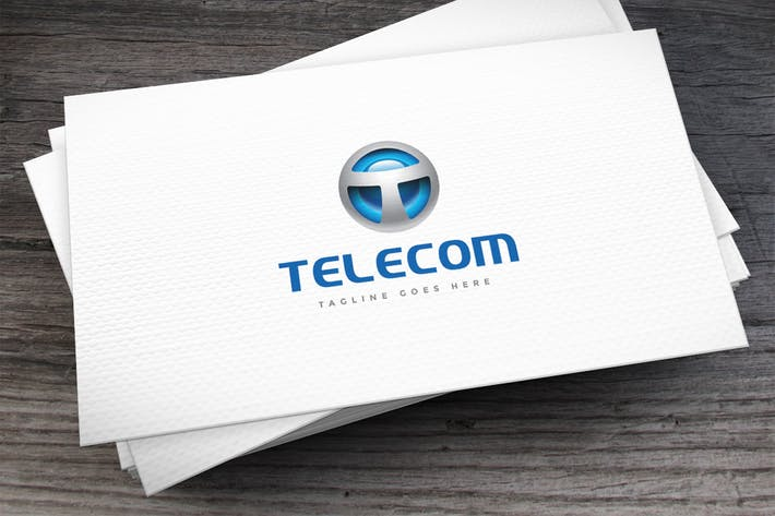 Thumbnail for Telecom Logo Template