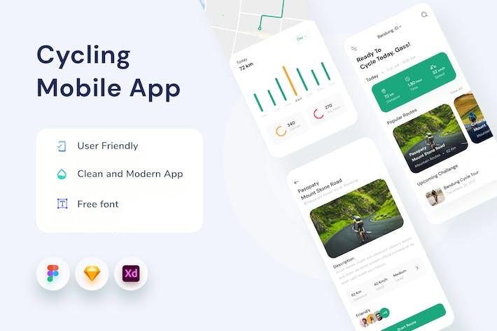 Appli mobile Cyclisme