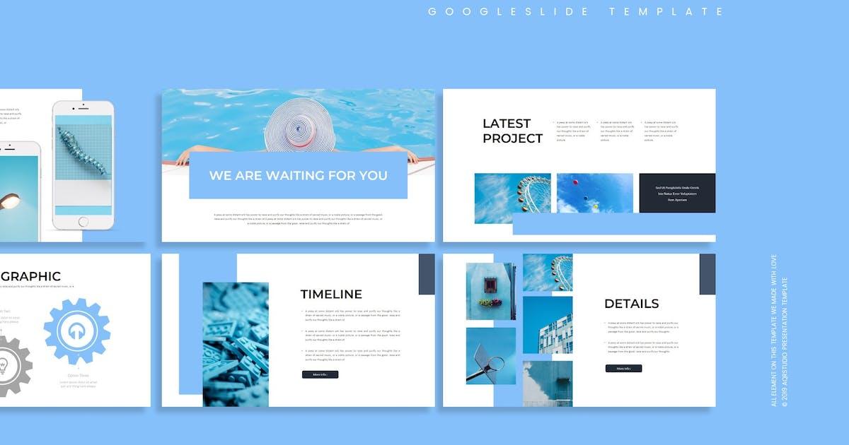 Download Kebiruan - Google Slides Template by aqrstudio