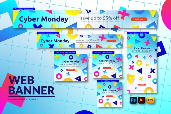 Cyber Monday Advestisement | Web Banner