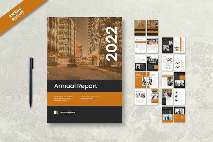Thumbnail for Annual Report