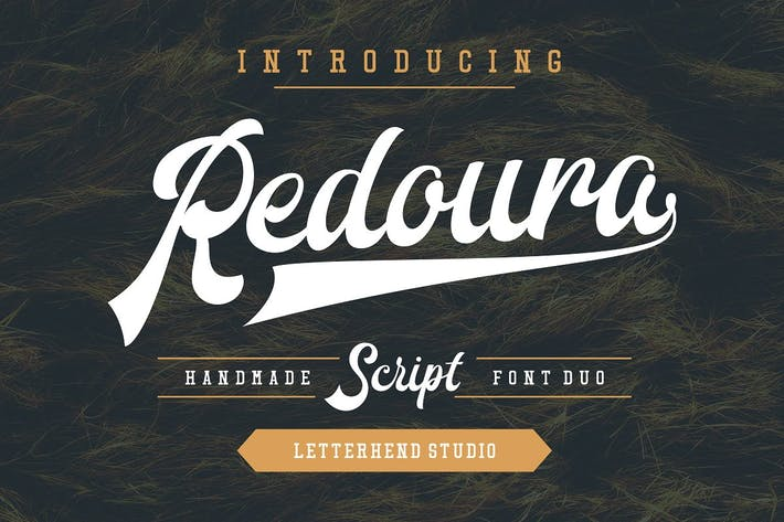 Thumbnail for Redoura Font Duo