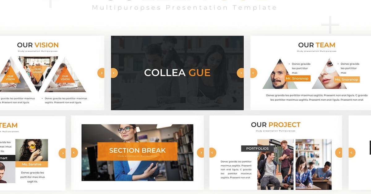 Download Colleague - Google Slides Template by SlideFactory