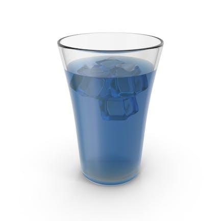 Glas mit kaltem Saft