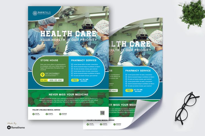 Thumbnail for Sakikpalo - Healthcare And Medical Poster HR