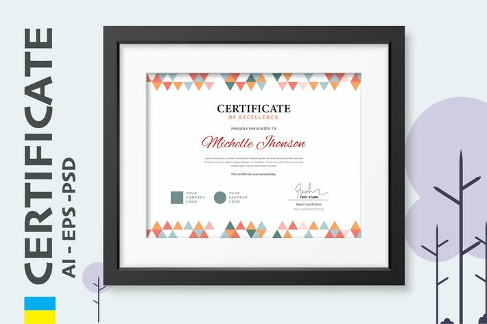 Thumbnail for Professional Certificate / Diploma Template