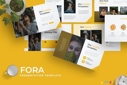 Fora - Presentation Template