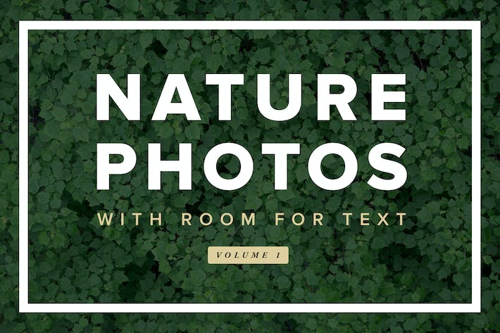 Thumbnail for Nature Photos With Room For Text - Volume 1