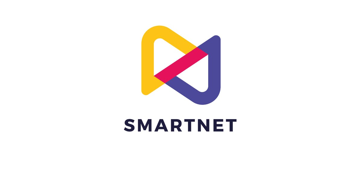 Download Smart Net S N Letter Logo Template by Pixasquare