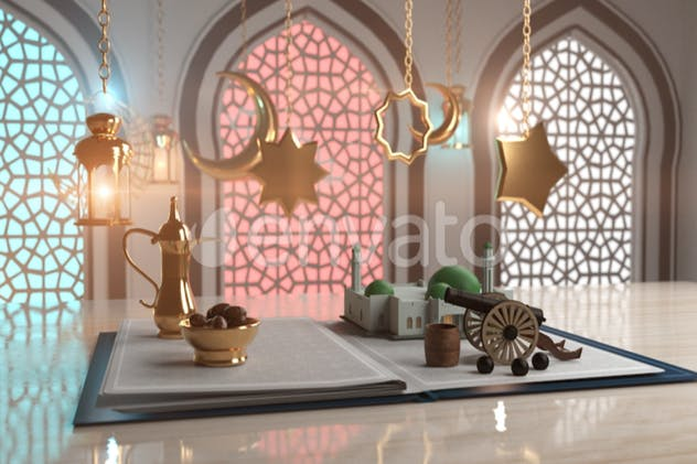 Ramadan & Eid greeting book