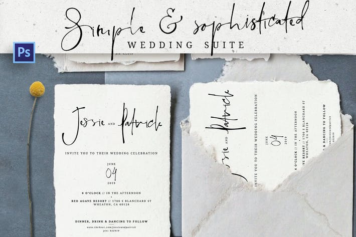 Thumbnail for Simple Sophisticated Wedding Suite