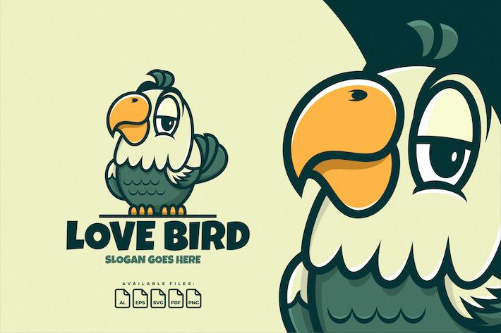 Thumbnail for Logo Mascot Love Bird