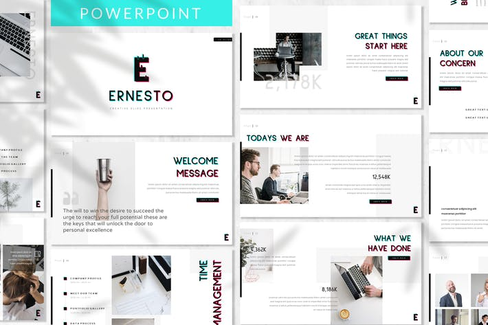 Thumbnail for Ernesto - Business Powerpoint Template