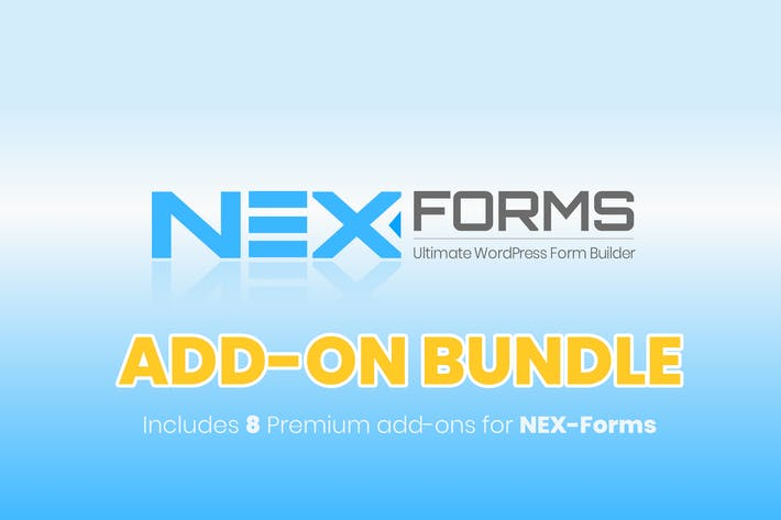 Thumbnail for NEX-Forms - Add-on Bundle