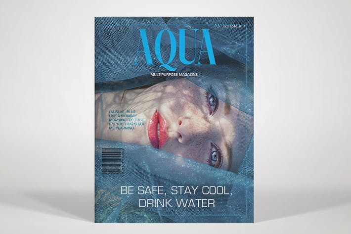 Cover Image For AQUA - Multipurpose Magazine