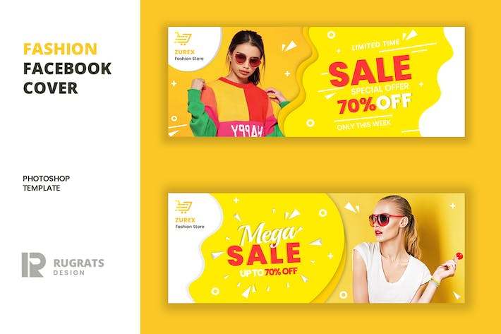Thumbnail for Fashion R10 Facebook Cover Template