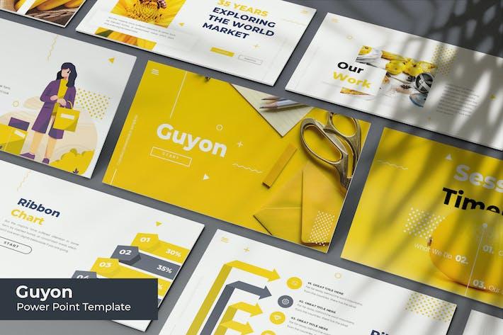Thumbnail for Guyon - Plantilla Powerpoint