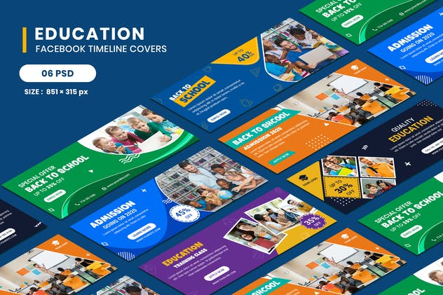 Education Facebook Timeline Covers - product preview 0