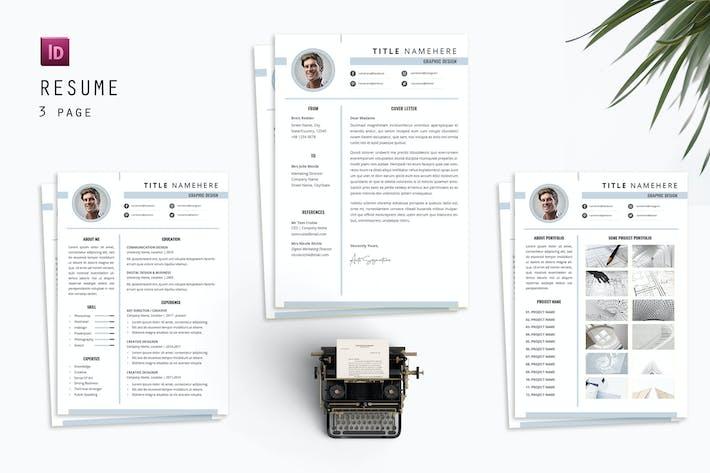 Title Graphic Resume Designer