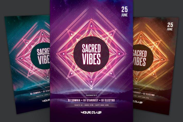 Thumbnail for Sacred Vibes Flyer