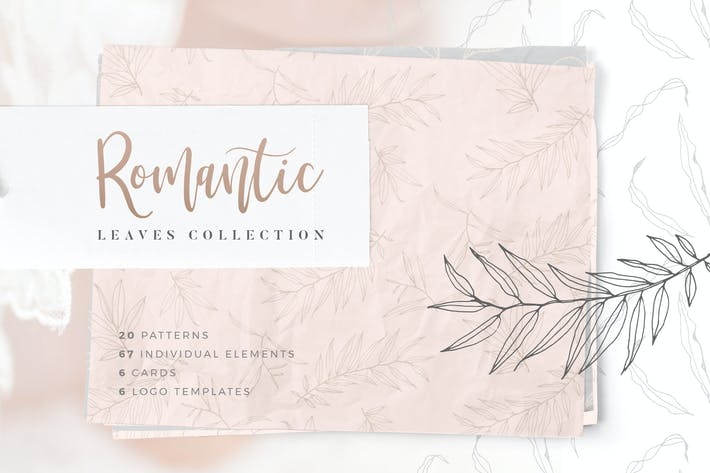 Thumbnail for Romantic Leaves Collection
