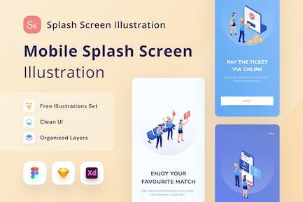 Mobile Splash Screen