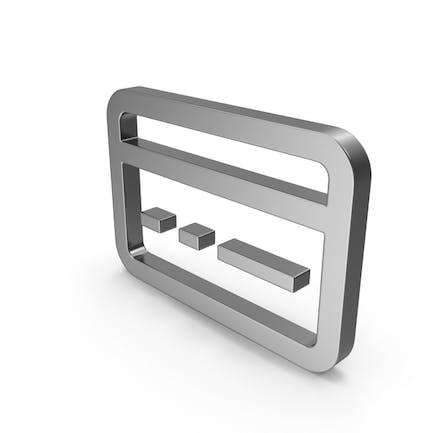 Symbol Bank Card Steel
