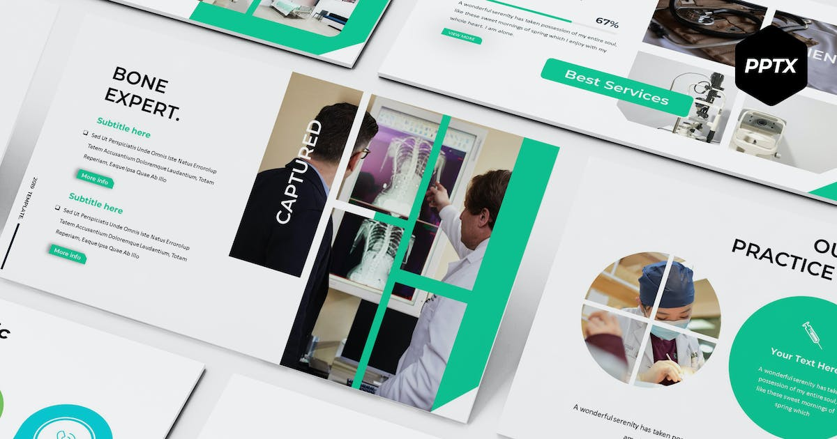 Download Health - Powerpoint Template by aqrstudio