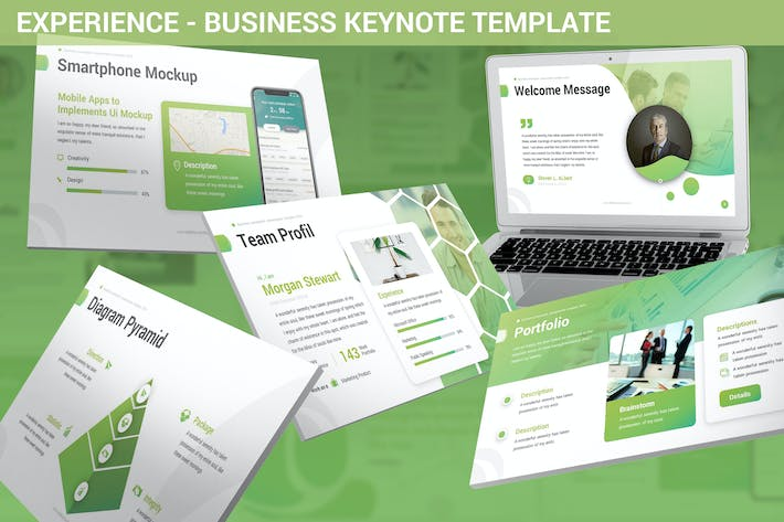 Thumbnail for Experience - Business Keynote Template