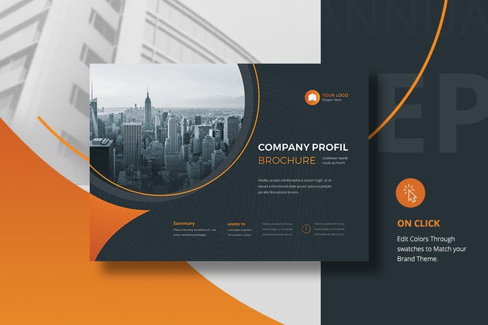 Thumbnail for Landscape Corporate Brochure A4 & A5