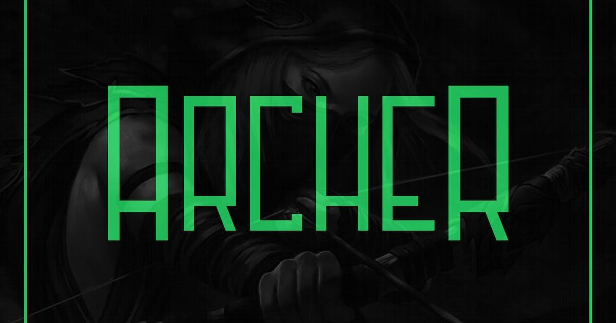 Archer Font by snkart