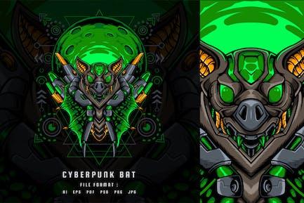 Cyberpunk Bat