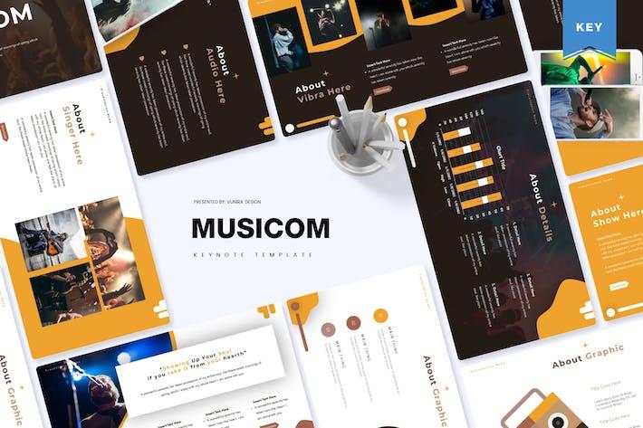 Музыка| Шаблон Keynote