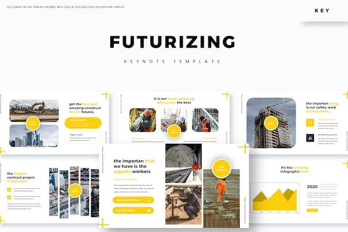 Thumbnail for Futurizing - Keynote Template