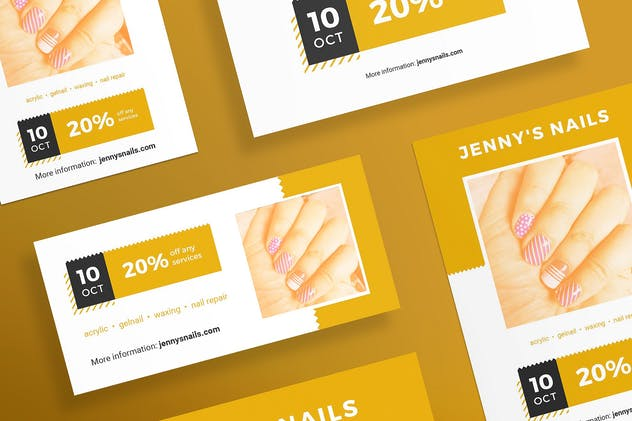 Nail Salon Flyer and Poster Template
