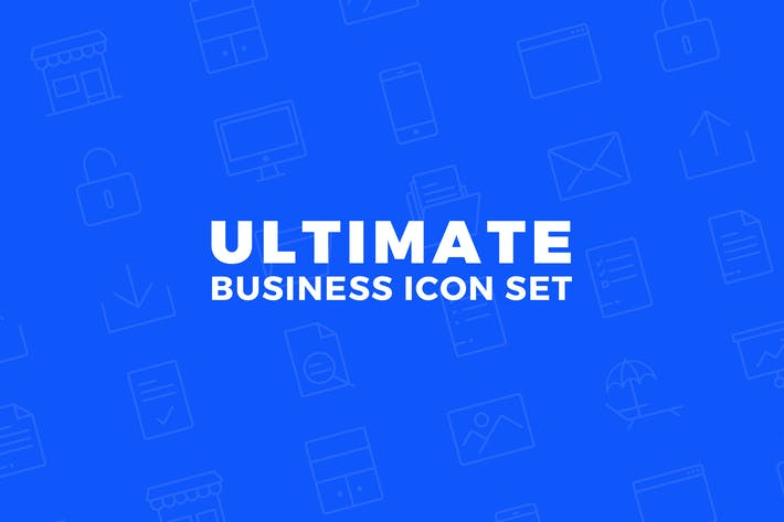 Cover Image For Ultimate Business Icon Set