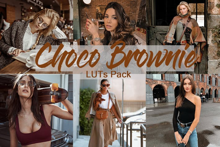 Thumbnail for Choco Brownie -  LUTs Pack for Color Grading