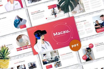 Macau - Medic Powerpoint Template