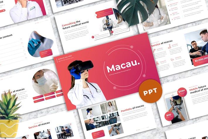 Thumbnail for Макао - Медик Powerpoint Шаблон