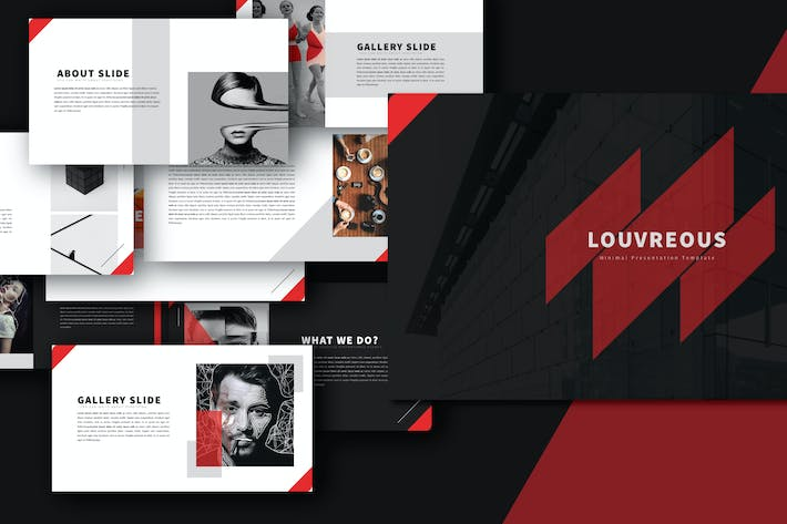 Thumbnail for LOUV Keynote Template