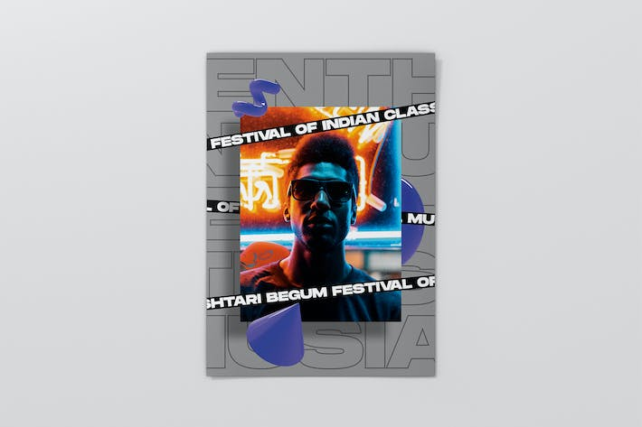 Thumbnail for Creative Music Flyer