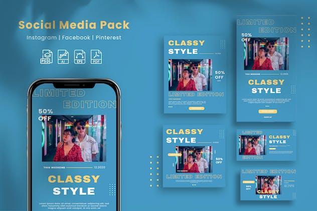 Fashion - Social Media Pack