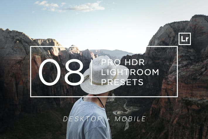 Thumbnail for 8 Pro HDR Lightroom Presets