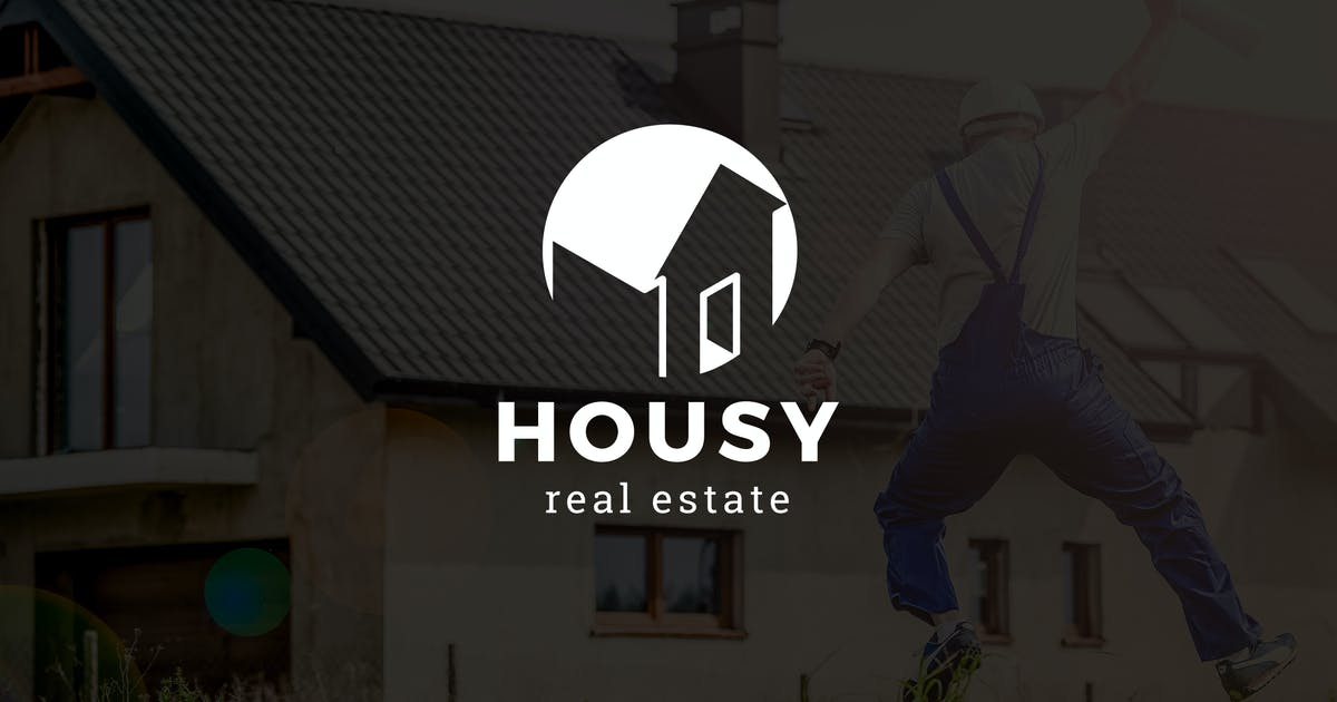 Download Housy : Negative Space Property Logo by punkl