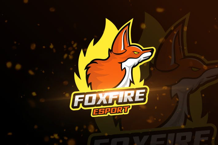 Thumbnail for Fox Mascot & eSports Gaming Logo