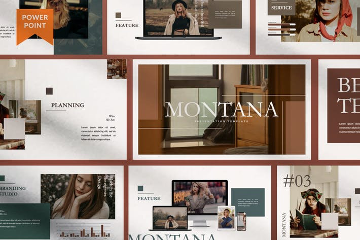 Thumbnail for MONTANA - Brand Sheet Powerpoint