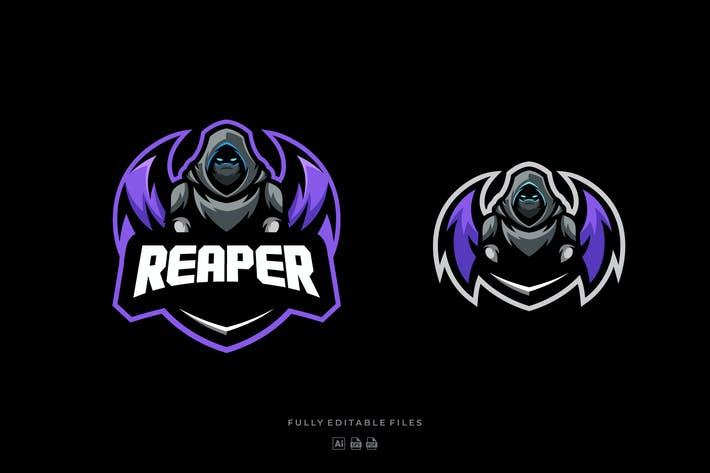 Thumbnail for Reaper Sports and E-sports Logo