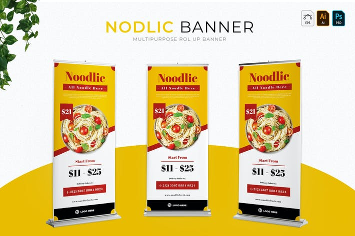 Thumbnail for Nodlic | Roll Up Banner