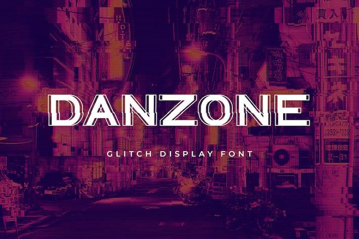 Thumbnail for Danzone sans Serif Display Font