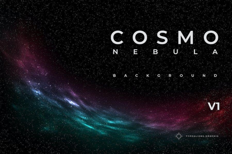 Cosmo Nebula Background V1